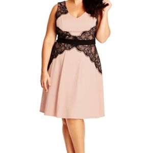 City Chic Lace Corset Dress